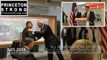 INNOVATION – PRINCETON Governor Murphy Announces Tools to Spur Innovation and Growth of High-Tech Firms