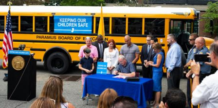 Governor Murphy Signs School Seat Belt Legislation to Safeguard Students