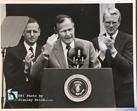A Princeton Degree For a Yalie: George H.W. Bush Visits Princeton, 1991
