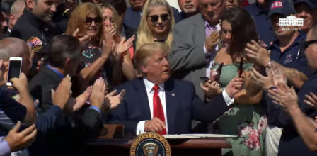 NATION – President Trump Permanently Authorizes September 11th Victim Fund